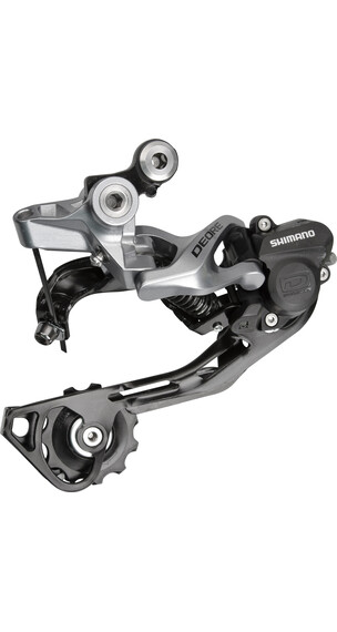 Shimano Deore RD-M615 schakelmechanisme shadow+ 10-speed zilver